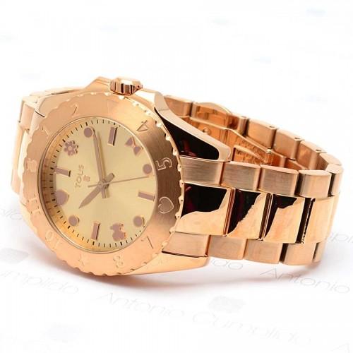 Reloj Tous Motif Dorado