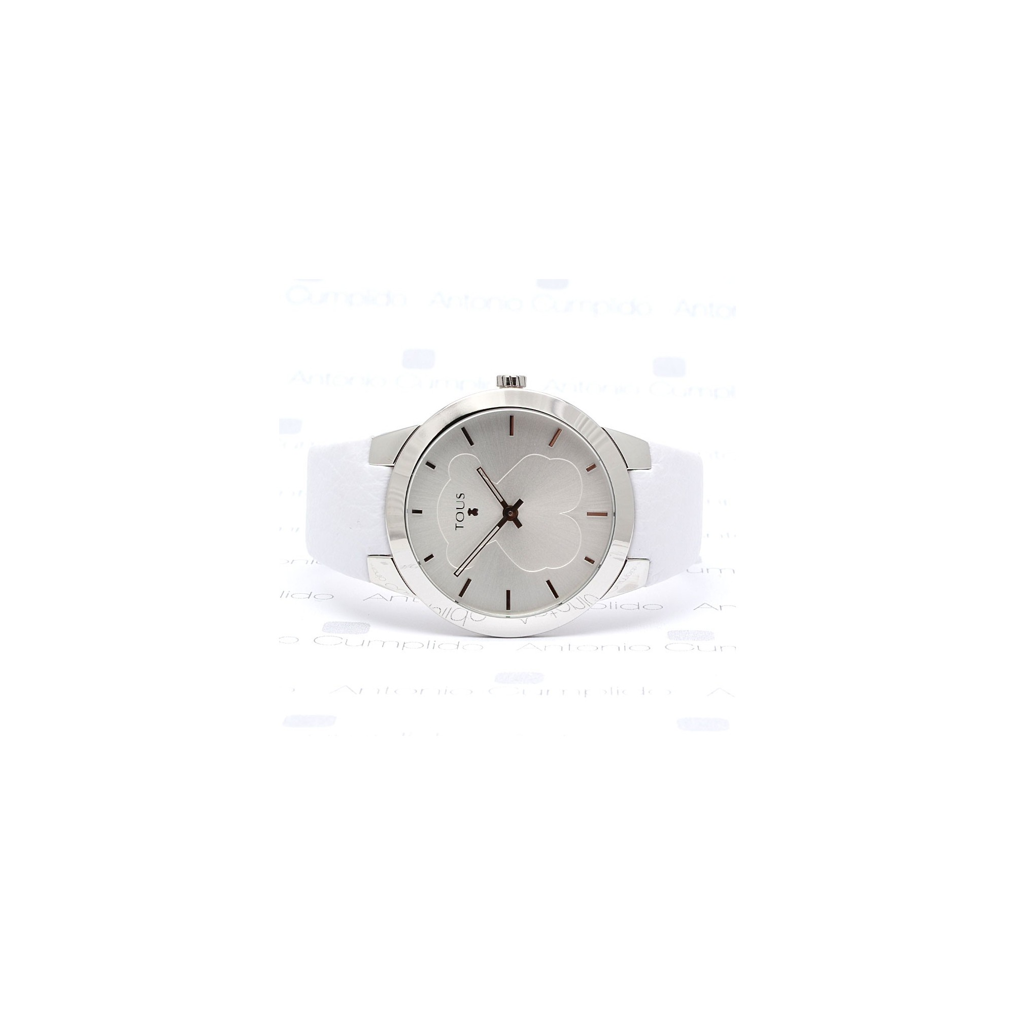 Reloj Tous Chica Acero Correa Blanca B-Face Ivory 400350115 870b9f06c628