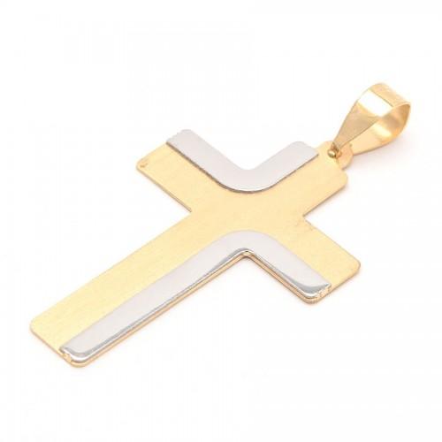 Cruz Oro Bicolor Lisa