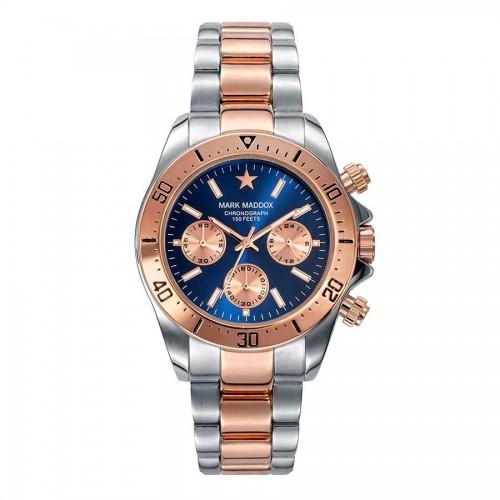 Reloj Mark Maddox Dorado Plateado