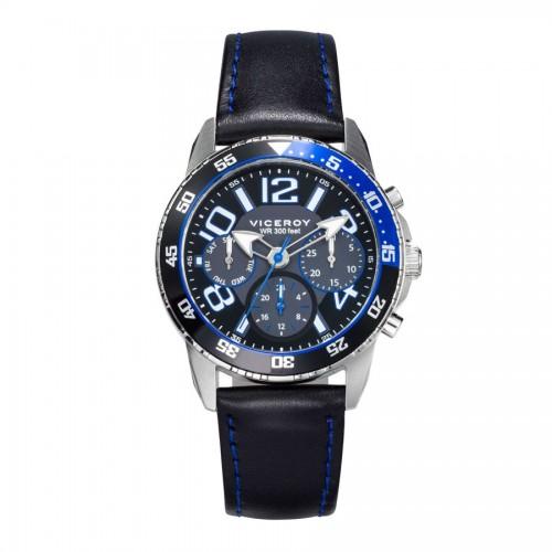 Reloj Viceroy Niño Azul Correa Negra