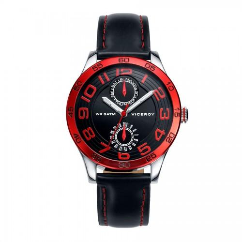Reloj Viceroy Niño Rojo Correa Negra