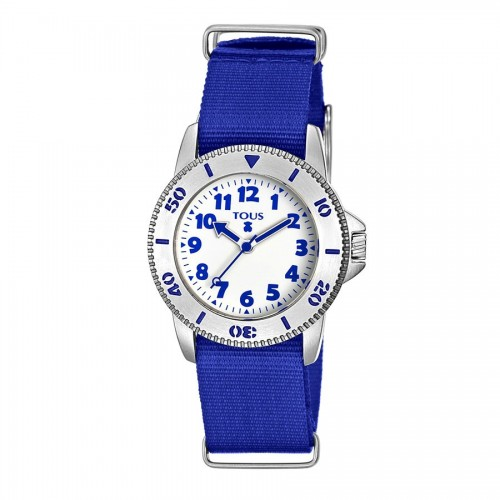 Reloj Tous Correa Tela Aquatous Azul