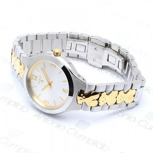 Reloj Tous New Praga Brazalete Bicolor