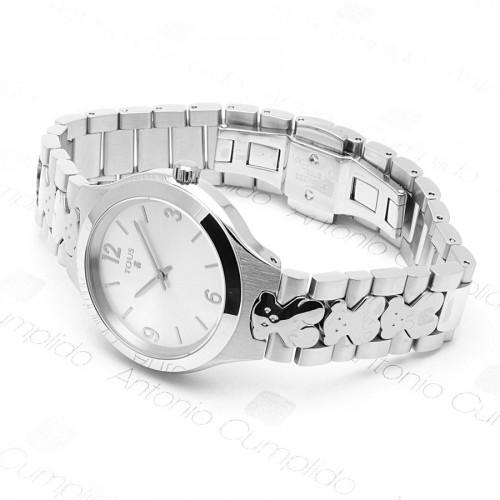 Reloj Tous New Praga Brazalete Acero