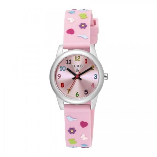 Reloj Tous Cookies Goma Rosa