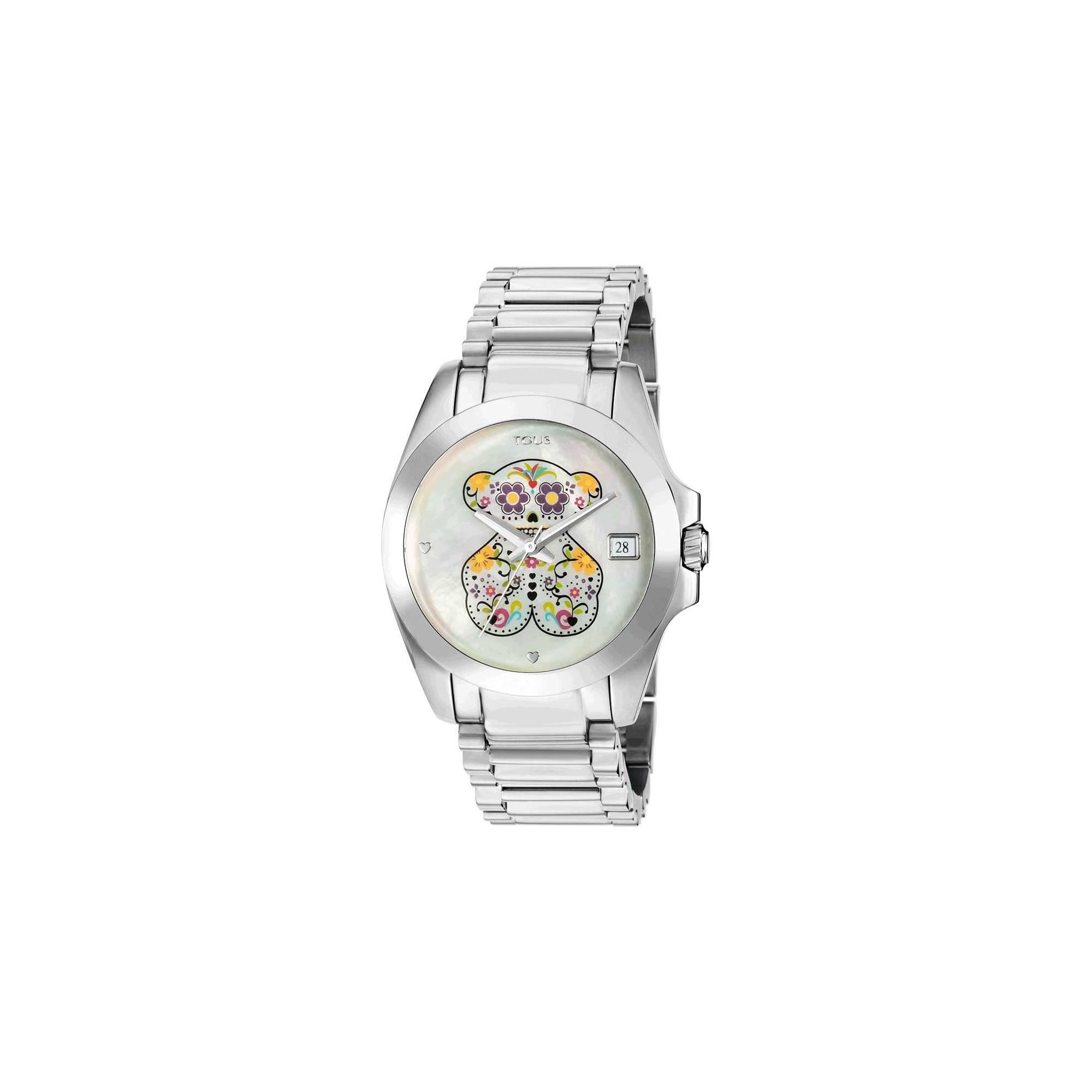 8b51aad77e6b Reloj Tous Chica Drive Sugar Brazalete Acero 500350230