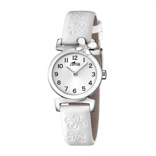 Reloj Lotus Mariposa Correa Blanca