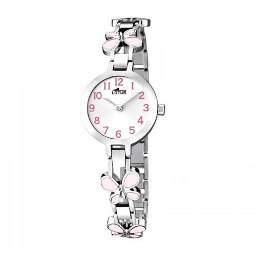 Reloj Lotus Brazalete Mariposas Rosa