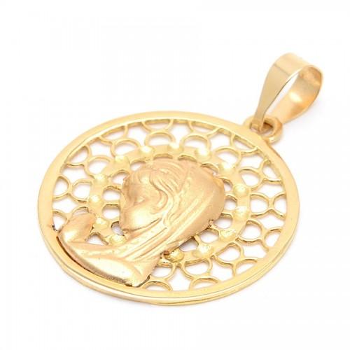 Medalla Oro Virgen Niña