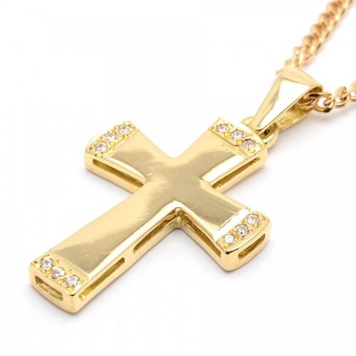 Cruz Oro Lisa Circonitas