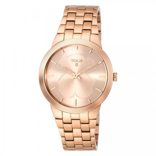 Reloj Tous Dorado Rosa Brazalete BFace