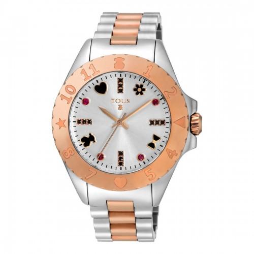 Reloj Tous New Motif Brazalete Acero Dorado