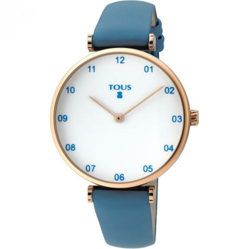 Reloj Tous Camille 29 Dorado Correa Marrón