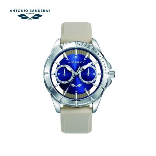 Reloj Viceroy Chica Azul Correa Beig