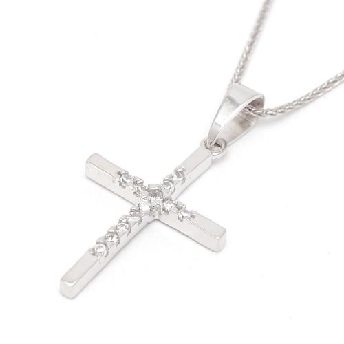 Cruz Oro Blanco Circonitas