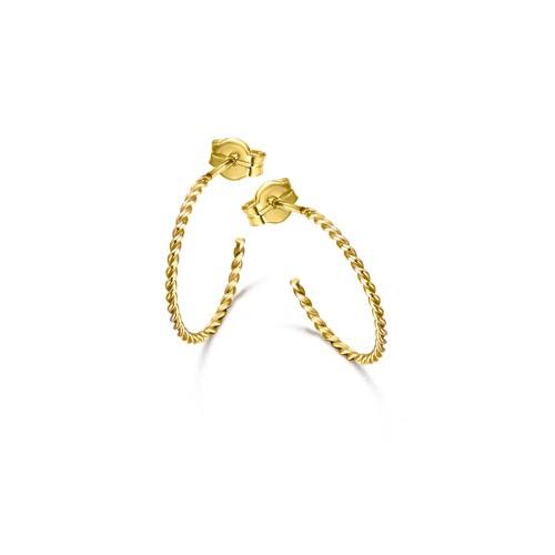 Pendientes Oro Chica LeCarré Aro Espiral