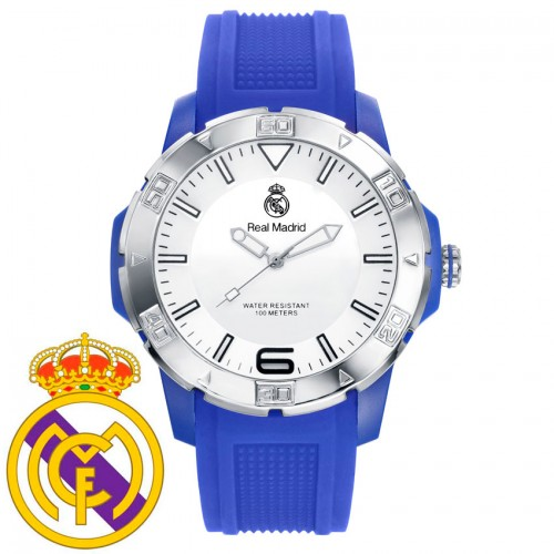 Reloj Chico Real Madrid Goma Azul