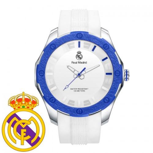 Reloj Chico Real Madrid Goma Blanca