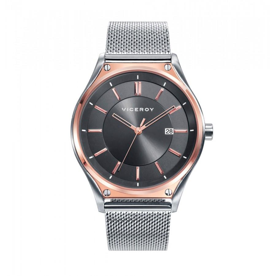 Reloj Viceroy sumergible con brazalete de malla de acero