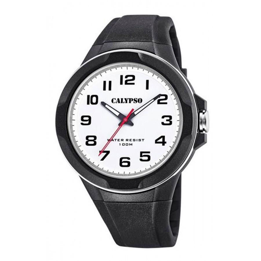 Reloj Calypso Sumergible y Correa de Goma Negra