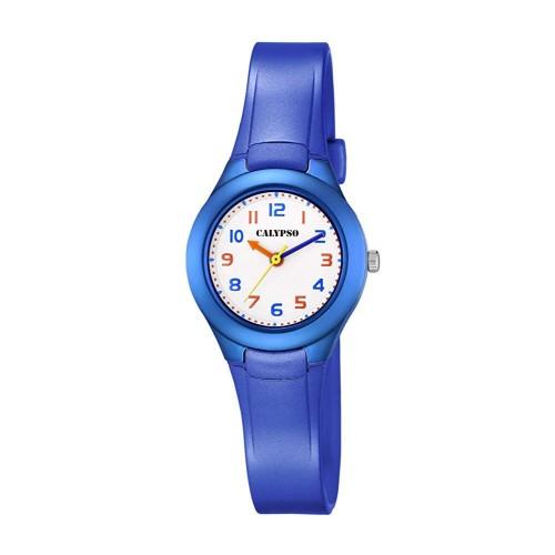 Reloj Calypso Infantil Goma Azul