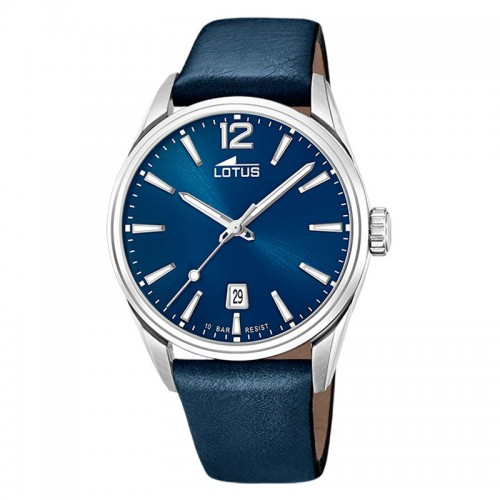 Reloj Lotus Azul Correa Piel