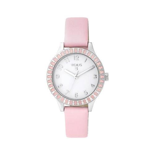 Reloj Tous Niña Straight Correa Rosa