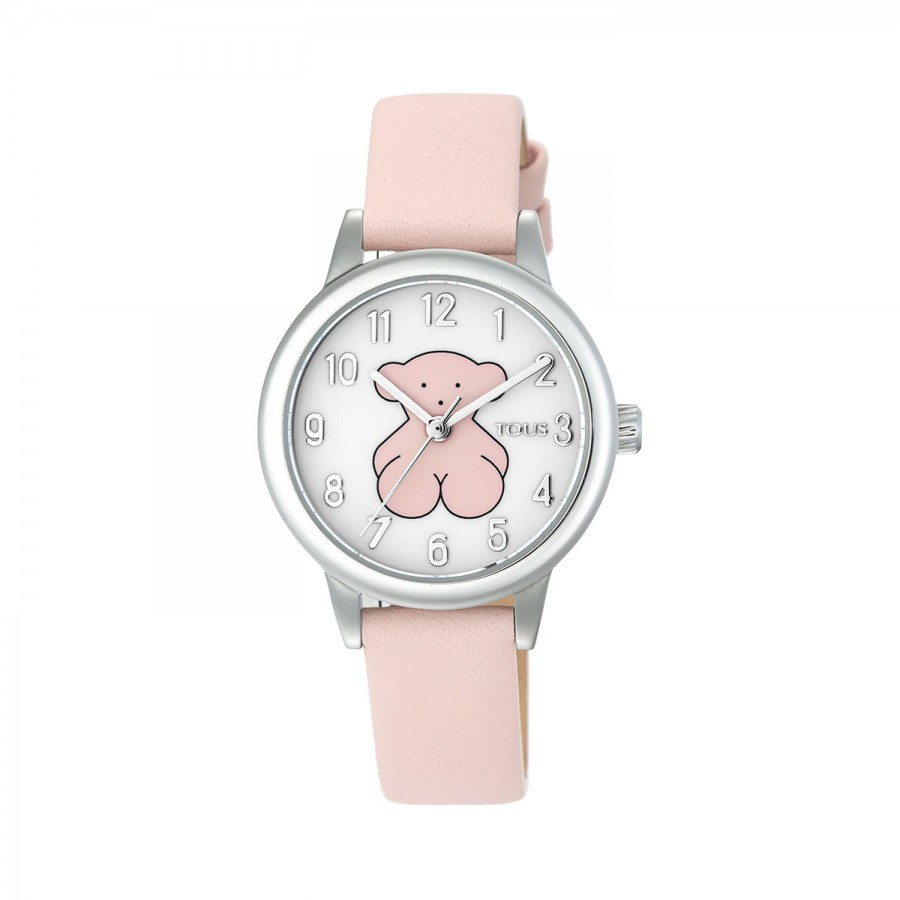 Reloj Tous Niña New Muffin Acero Correa Rosa