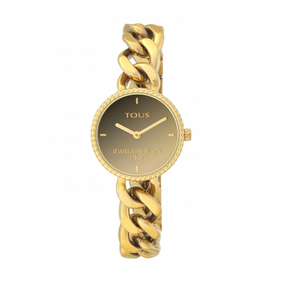 Reloj Tous Minne Dorado Brazalete Pulsera