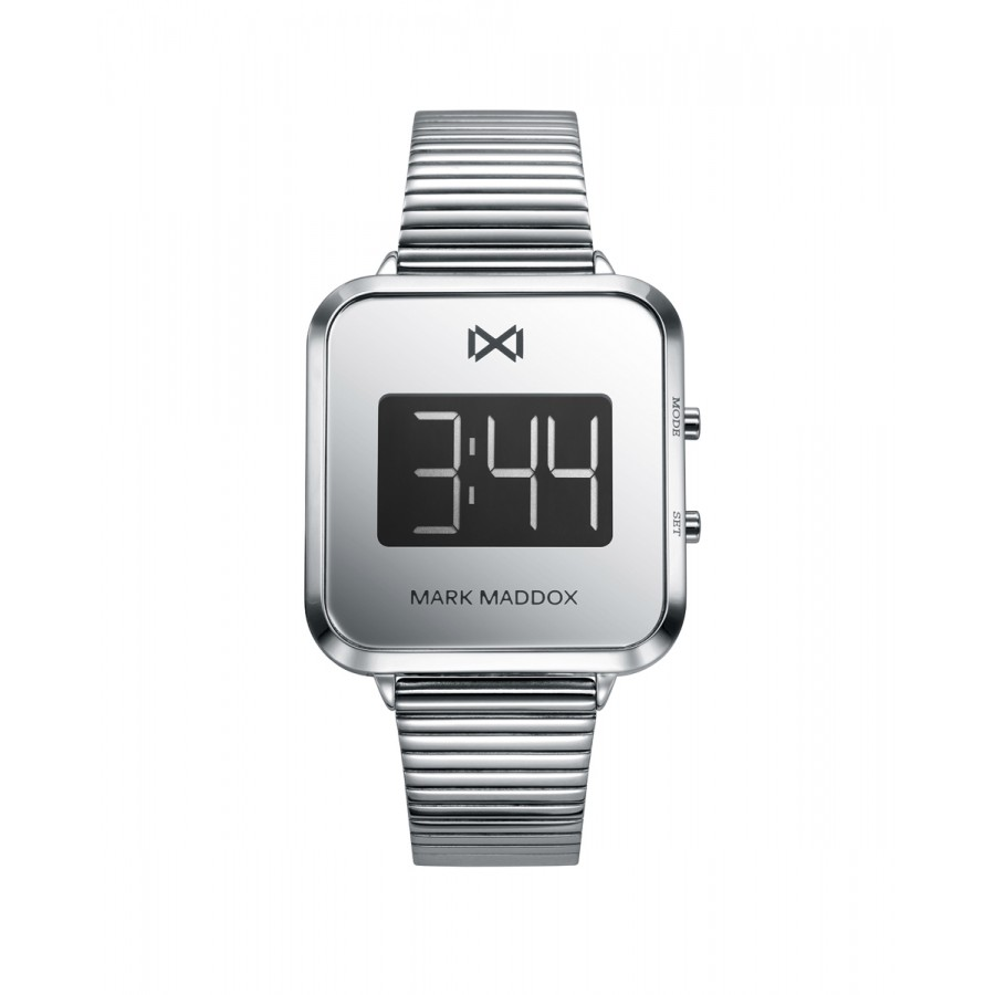 Reloj para chica Mark Maddox digital con brazalete de acero