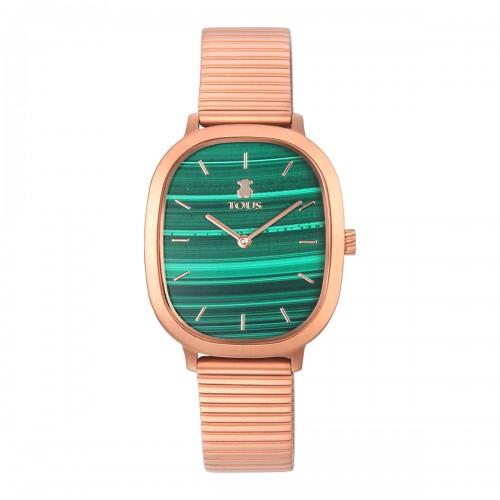 Reloj Tous Heritage Dorado Malaquita Verde