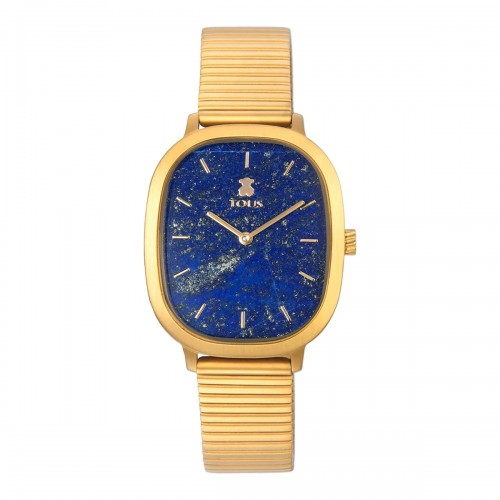 Reloj Tous Heritage Dorado Lapislázuli Azul