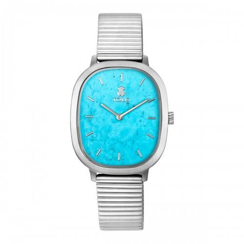 Reloj Tous Heritage Acero Turquesa Azul