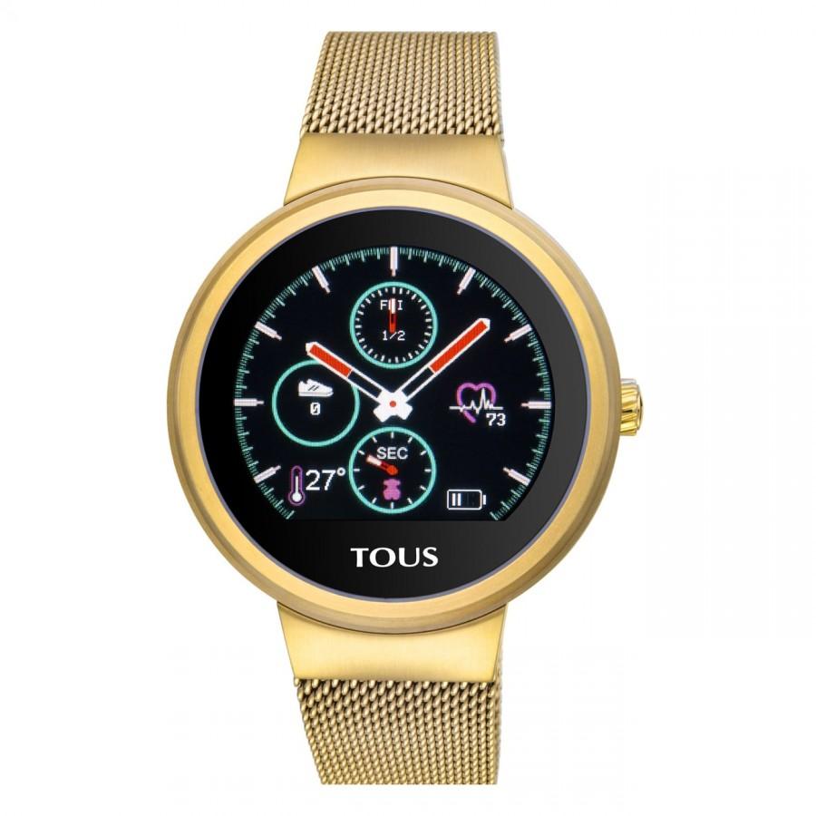 Smartwatch Tous Rond Dorado Brazalete Malla