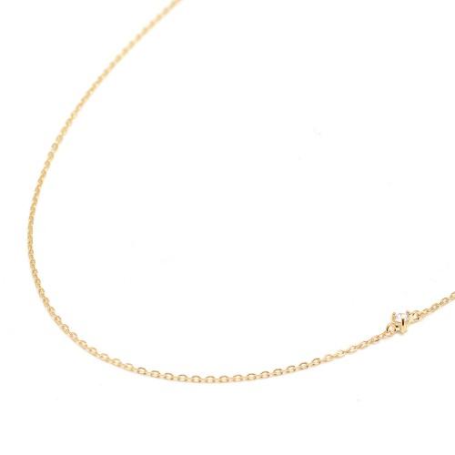 Gargantilla Oro LeCarré Diamante