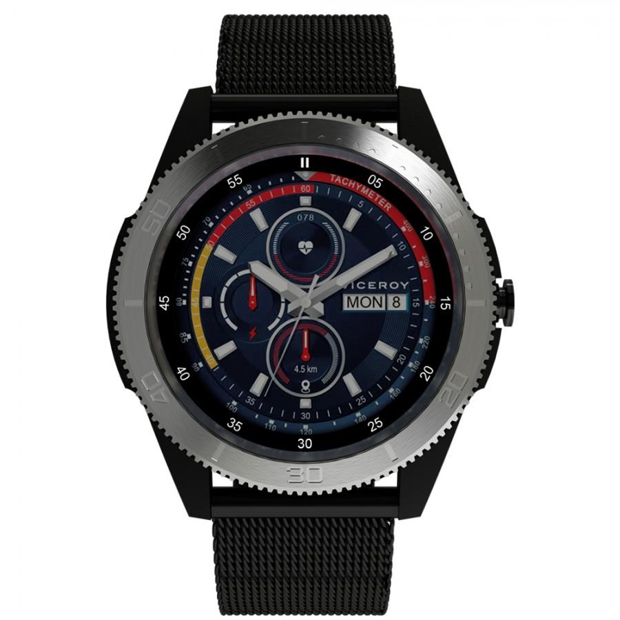 Reloj Smartwatch Chico Viceroy SmartPro Sport Brazalete Malla Negra