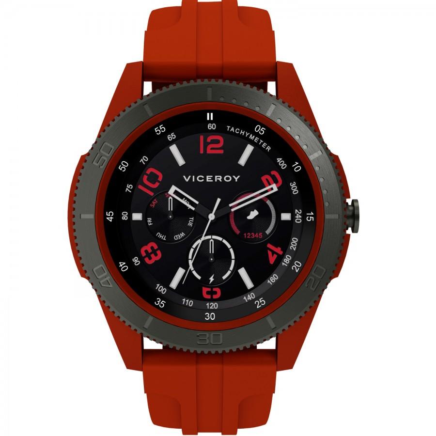 Reloj Smartwatch Chico Viceroy SmartPro Sport Rojo Correa