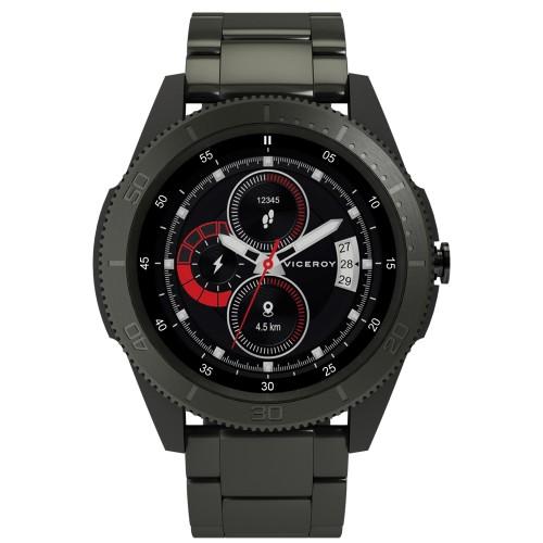 Reloj Smartwatch Chico Viceroy SmartPro Sport Brazalete Acero Gris