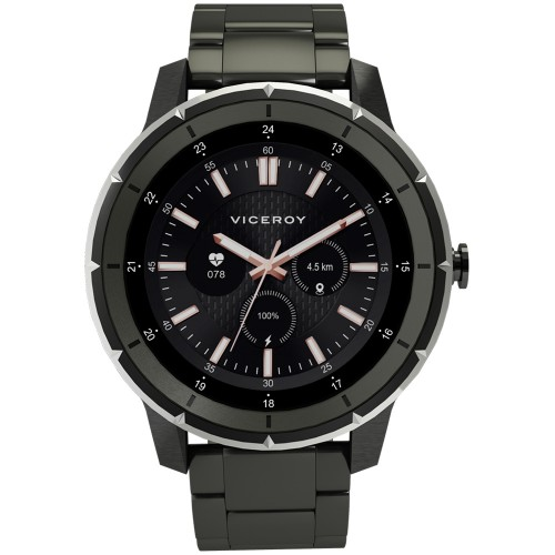 Smartwatch Viceroy SmartPro Man Brazalete Acero Negro