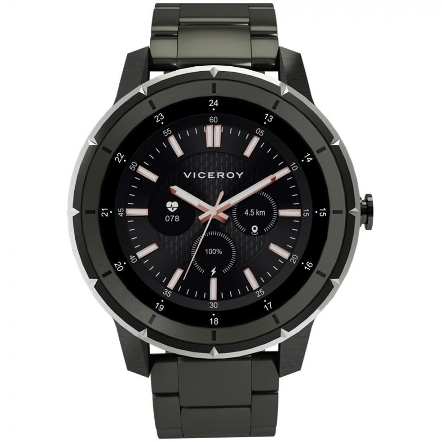 Reloj Smartwatch Chico Viceroy SmartPro Man Brazalete Acero Negro