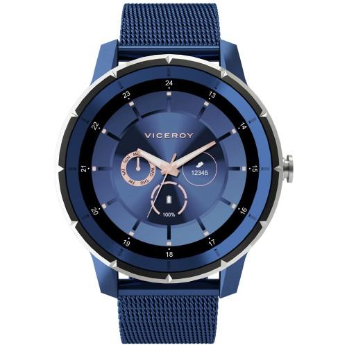 Smartwatch Viceroy SmartPro Man Brazalete Malla Azul