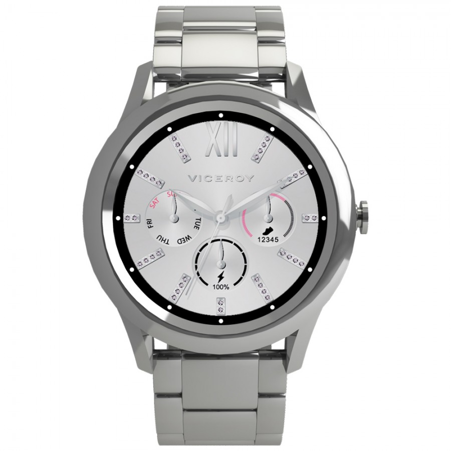Reloj Smartwatch Chica Viceroy Acero SmartPro Woman Brazalete