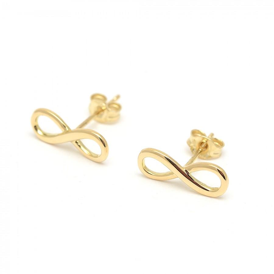 Pendientes Oro Infinity