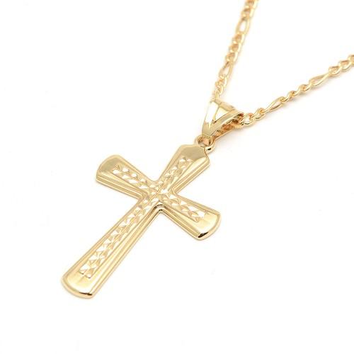 Cruz Oro Grabada
