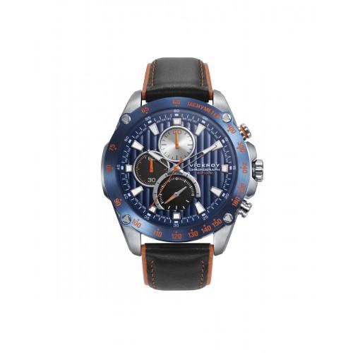 Reloj Viceroy Deportivo Azul Correa Negra