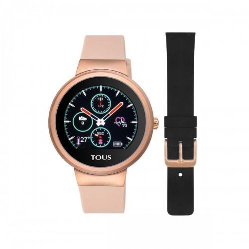 Smartwatch Tous Rond Dorado Correa Silicona