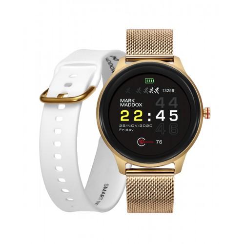 Smartwatch Mark Maddox Digital Dorado
