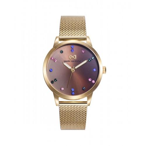 Reloj Mark Maddox Dorado Brazalete Malla