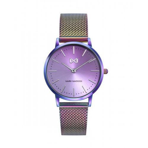 Reloj para chica Mark Maddox Arco Iris con brazalete de malla
